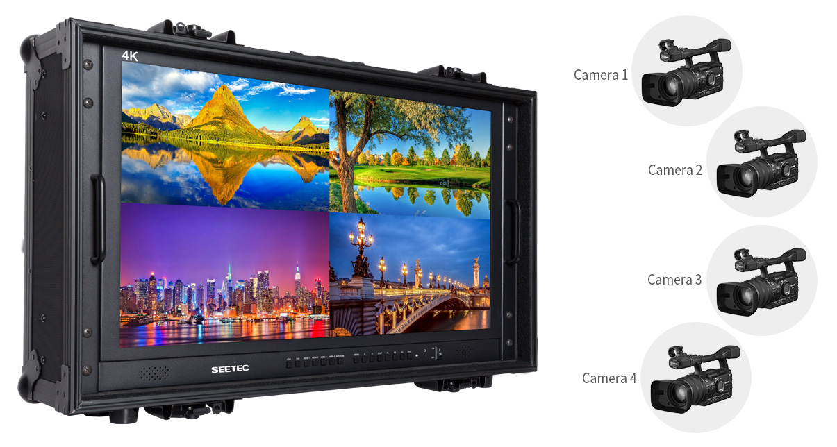 SEETEC-4k280-9HSD-SCH-CO 28 inch big size directorlcd monitor for camera field